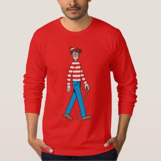 Donde está bastón de Waldo Playera