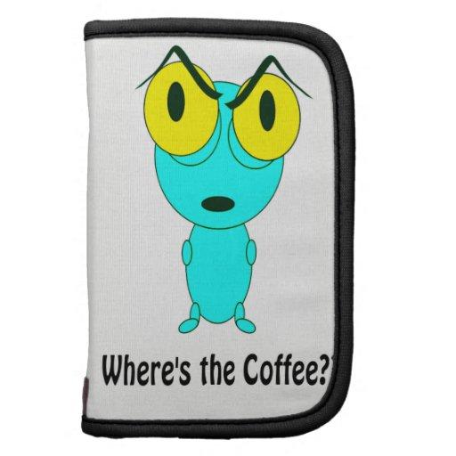 Donde está el café, el dibujo animado extranjero planificador