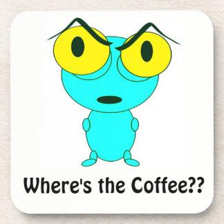Donde está el café, el dibujo animado extranjero posavasos