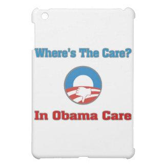 ¿Dónde está el cuidado? En el cuidado de Obama
