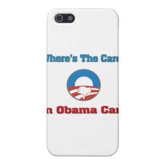 ¿Dónde está el cuidado? En el cuidado de Obama iPhone 5 Protector