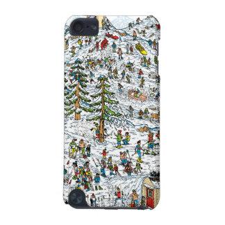 Donde está el esquí de Waldo se inclina Funda Para iPod Touch 5G
