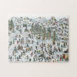 Donde está el esquí de Waldo se inclina Rompecabeza