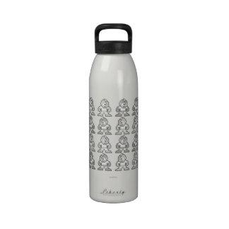 ¿Dónde está el hombre mega? Botellas De Agua Reutilizables