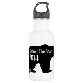 Donde está el oso botella de agua