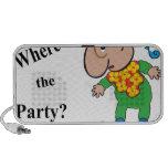 Donde está el Party.ai iPod Altavoces