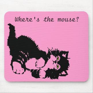 ¿Dónde está el ratón Alfombrilla De Raton
