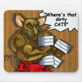 """¡""""Donde está ese gato sucio!! """" Alfombrillas De Raton"""