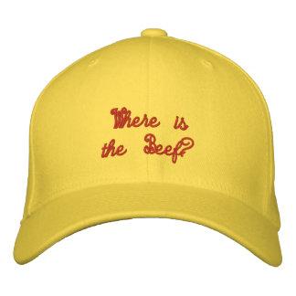 ¿dónde está la carne de vaca? - Gorra Gorra De Beisbol