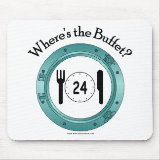 ¿Dónde está la comida fría? Tapete De Raton