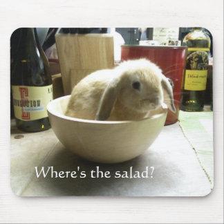 ¿Dónde está la ensalada Tapetes De Ratón