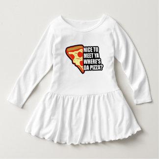 Donde está la pizza vestido