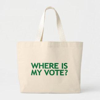 donde está mi voto (la elección de Irán) Bolsas