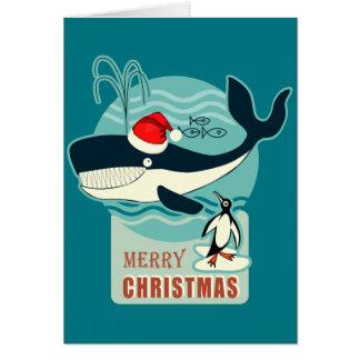 ¿Dónde está Papá Noel? Tarjeta De Felicitación
