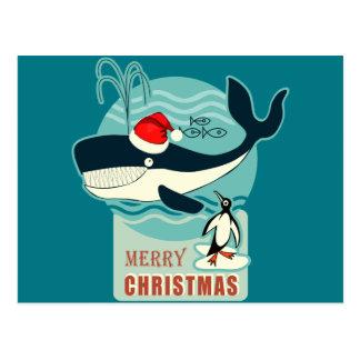 ¿Dónde está Papá Noel? Tarjeta Postal