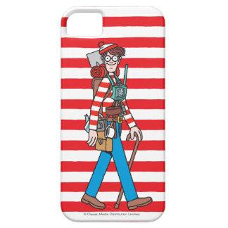 Donde está Waldo con todo su equipo iPhone 5 Fundas