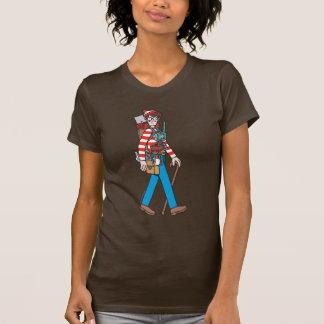 Donde está Waldo con todo su equipo T Shirts