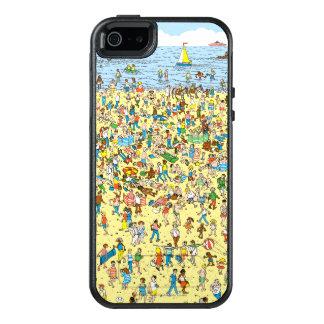 Donde está Waldo en la playa Funda Otterbox Para iPhone 5/5s/SE