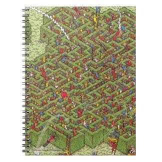 Donde está Waldo Great Escape Libretas Espirales