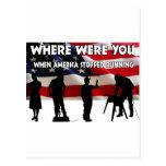 Donde estaba usted América Tarjetas Postales