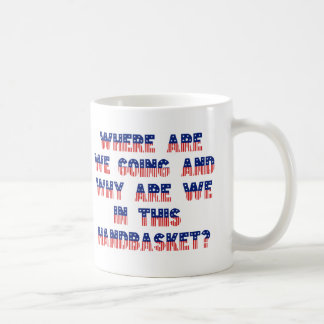 Donde estamos que van - la taza 2 del Handbasket