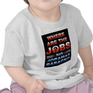 Donde están los trabajos camisetas