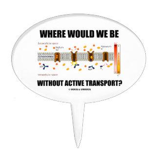 ¿Dónde estaríamos sin transporte activo? Figura De Tarta