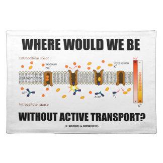 ¿Dónde estaríamos sin transporte activo? Mantel
