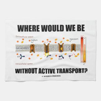 ¿Dónde estaríamos sin transporte activo? Toallas