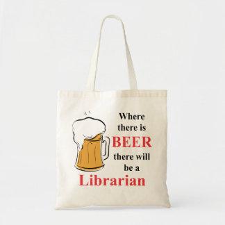 Donde hay cerveza - bibliotecario
