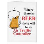 Donde hay cerveza - controlador aéreo tarjeta