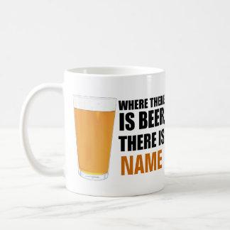 Donde hay cerveza, hay taza de café conocida