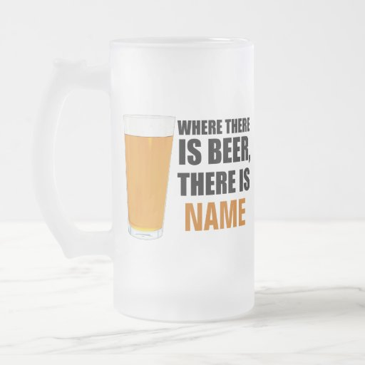 Donde hay cerveza, hay taza de cerveza conocida