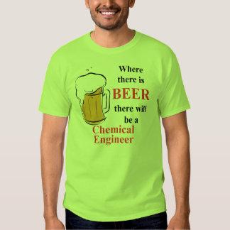 Donde hay cerveza - ingeniero químico poleras