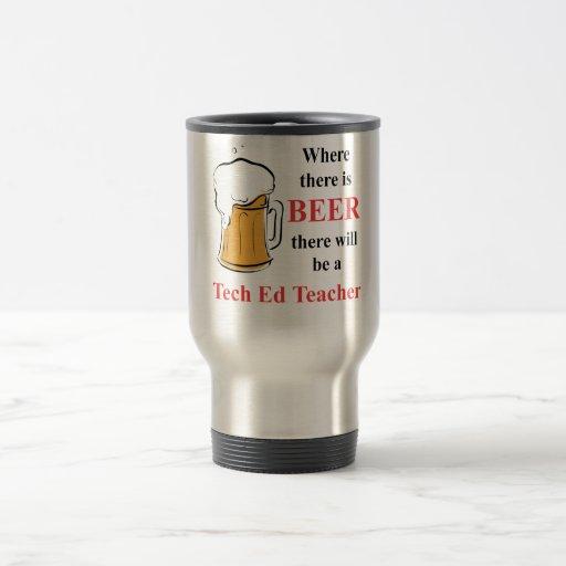 Donde hay cerveza - profesor de Ed de la Taza Térmica