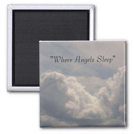 Donde imán del sueño de los ángeles