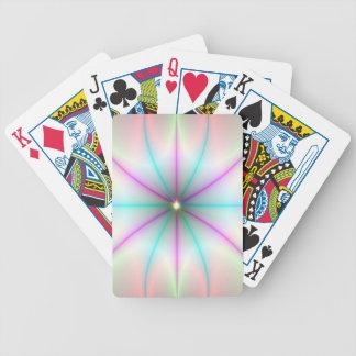 Donde las trayectorias cruzan naipes baraja cartas de poker