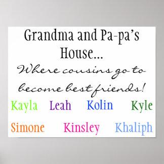 ¡Donde los primos van a hacer mejores amigos! , Ma Posters