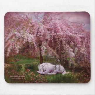 Donde los unicornios soñan Mousepad Tapete De Ratones