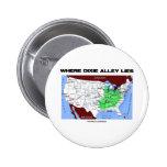 Donde miente el callejón de Dixie (el mapa de Esta Pin