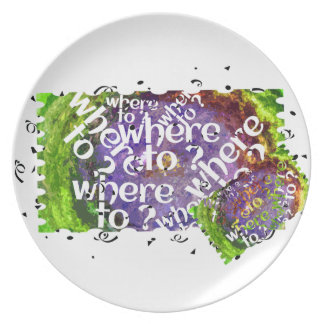 donde platear plato de comida