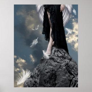 Donde solamente vagan los ángeles poster