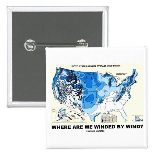 ¿Dónde somos venteados por el viento? (Energía eól Pin