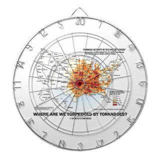 ¿Dónde tornados nos torpedeamos? (Meteorología) Tablero De Dardos