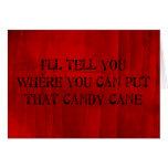 Donde usted puede poner ese bastón de caramelo felicitaciones