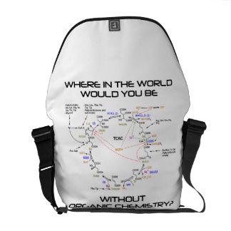 ¿Dónde usted sería química orgánica? Bolsas De Mensajeria