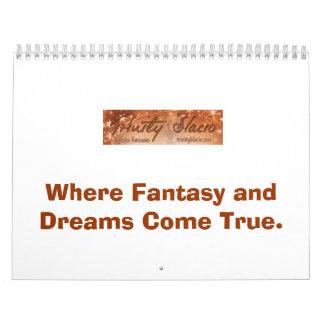 Donde vienen la fantasía y los sueños verdad haga calendario de pared
