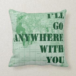Dondequiera con usted almohada