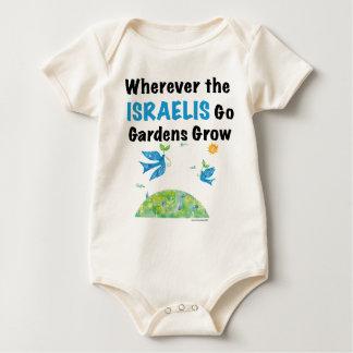 Dondequiera que vayan los israelíes los jardines mamelucos