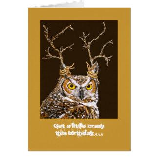 donder birthday card
